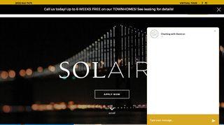 Solaire Resident Portal