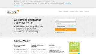 Solarwinds Community Portal