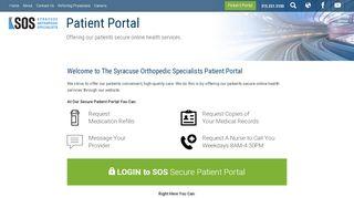 Sos Patient Portal