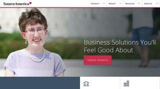 Source America Customer Portal