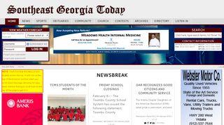 Southeast Georgia Today Web Portal