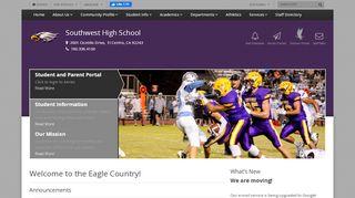 Southwest High School Portal