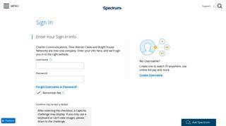 Spectrum Customer Portal