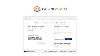 Square Care Patient Portal