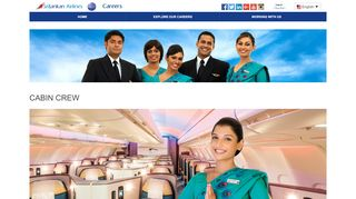 Srilankan Airlines Cabin Crew Web Portal