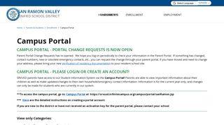 Srvusd Parent Portal