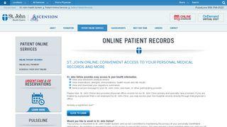 St Johns Tulsa Patient Portal