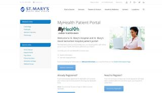 St Mary Medical Center Patient Portal