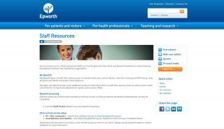 Staff Portal Epworth