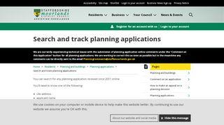 Staffordshire Moorlands Planning Portal