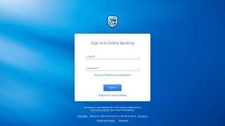 Standard Bank Malawi Internet Banking Login