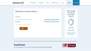 Standard Life Pension Portal