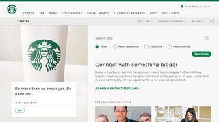 Starbucks Application Portal