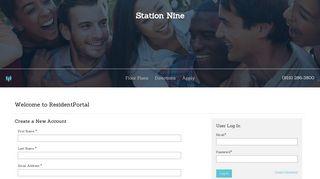 Station Nine Resident Portal