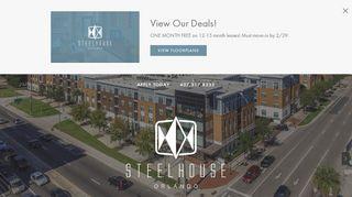 Steelhouse Resident Portal