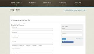 Steeplechase Resident Portal