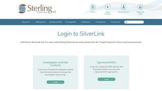 Sterling Irb Web Portal