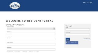 Steve Brown Apartments Resident Portal