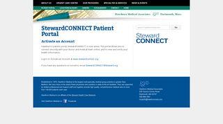 Steward Patient Portal
