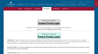 Student Portal 622