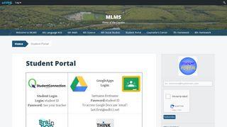 Student Portal Mlms6
