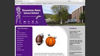 Student Portal Shamokin