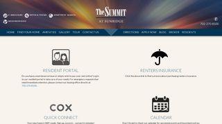 Summit At Sunridge Resident Portal