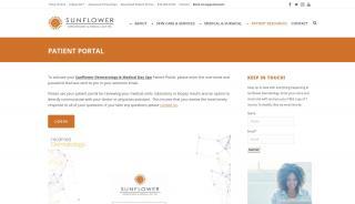 Sunflower Dermatology Patient Portal