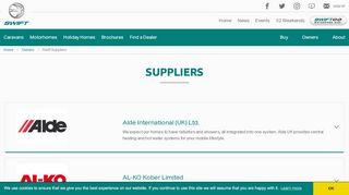 Swift Supplier Portal