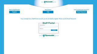 Tameside Portal Lite