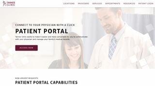 Tanner Patient Portal