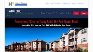 Taylor Bend Resident Portal