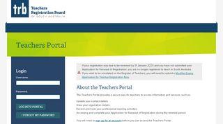 Teachers Registration Portal