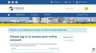 Teco Customer Portal
