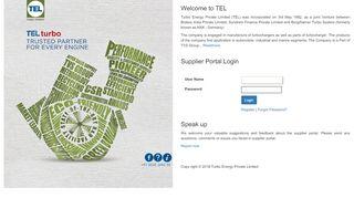 Tel Supplier Portal