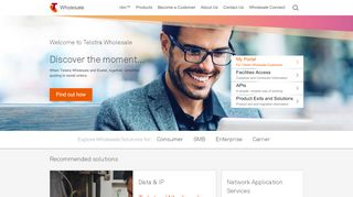 Telstra Wholesale Customer Portal