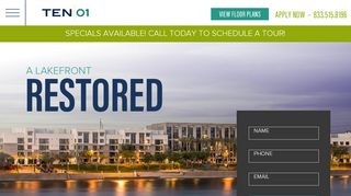 Ten01 Resident Portal