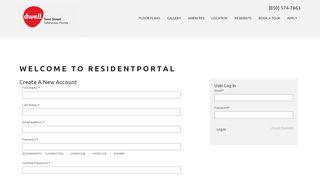 Tenn Street Resident Portal