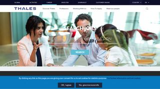 Thales Job Search Portal