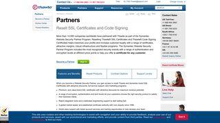 Thawte Partner Portal