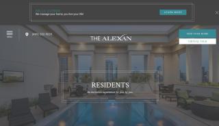 The Alexan Resident Portal