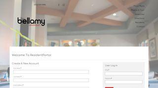 The Bellamy Resident Portal