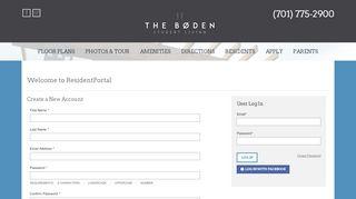 The Boden Resident Portal