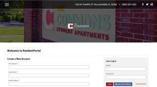 The Commons Resident Portal