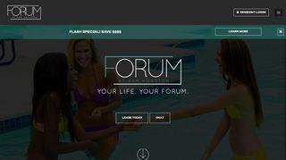 The Forum Resident Portal