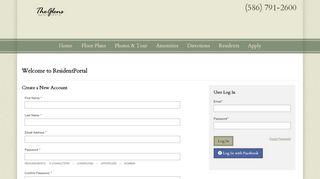 The Glen Resident Portal