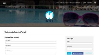The Haven Resident Portal