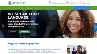 The Language Banc Portal Login
