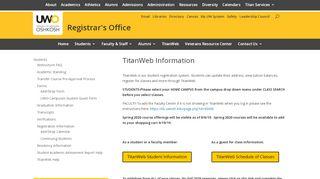 Titan Web Portal