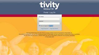 Tivity Health Portal